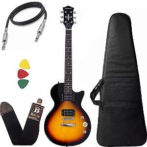 Guitarra Les Paul Strinberg Lps200 Sunburst Sb Com Capa Bag