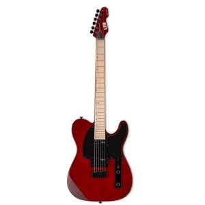 Guitarra Telecaster Esp Ltd Te200m Red Cherry Vermelha Mogno