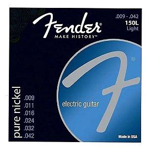 Encordoamento Fender Para Guitarra 09 150xl Pure Nickel
