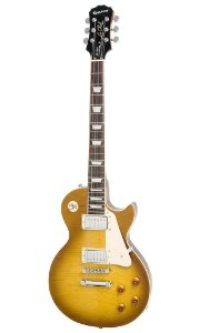Guitarra Epiphone Lp Standard Plus Top Pro Honey Burst + case