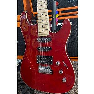Guitarra Strinberg Sgs180 Vermelho Twr Strato Humbucker