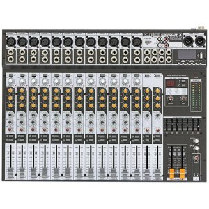 Mesa De Som Soundcraft Sx1602fx Usb C/ Efeitos Phantom Power