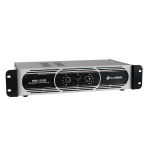 Amplificador de Potencia LL Audio Pro2200 550W