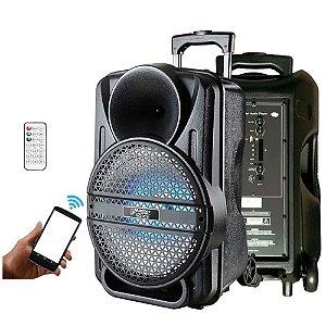 Caixa Ativa Amplificada Master Voice 12 Mv12 Bateria Portátil Bt Usb