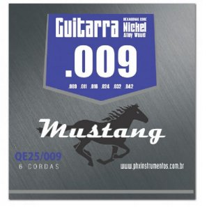 Encordoamento Mustang Phx Guitarra Nickel Alloy 009 Qe25-009
