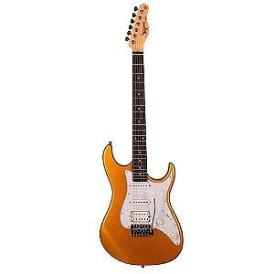 Guitarra Tagima Tg520 Dourado Metallic Gold Mgy