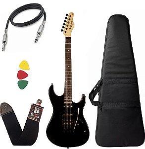 Kit Guitarra Tagima Tg510 Preto Bk Tw Series Capa Bag