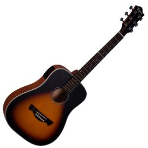 Violão Elétrico Aço Tagima Baby Tw15 Woodstock Sunburst