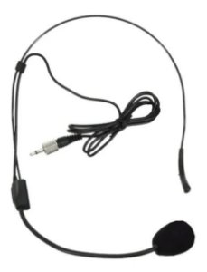 Microfone Headset Reposição Ksr Pro Ht9 Avulso Rosca Interna