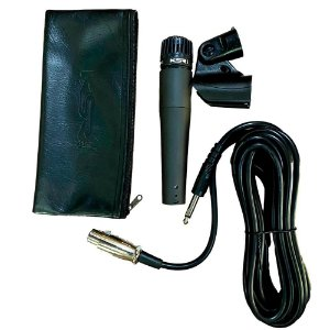 Microfone Instrumento Ksr Pro Dinâmico Km57 Fio Cachimbo Bag