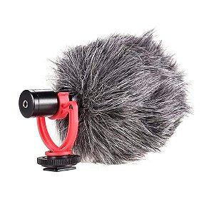 Microfone Kit de gravação KSR Pro Km1 Camera Dslr Celular