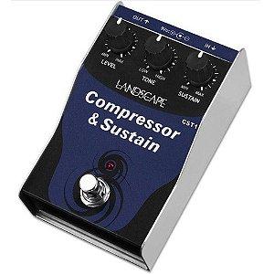 Pedal Landscape Compressor & Sustain CST1 Guitarra