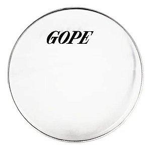 Pele Gope 10 Polegadas Cristal Transparente Percussão TC10