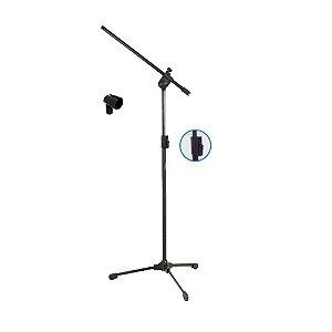Suporte Pedestal Microfone Ask Tps com cachimbo