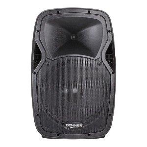 Caixa de Som Ativa Donner Falante 12 Edge1200 250w Bluetooth