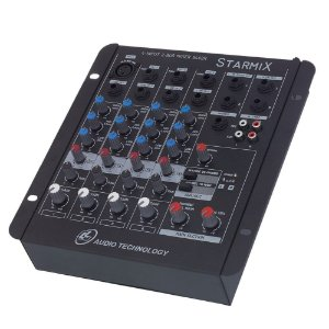 Mesa de Som LL Audio Starmix S402R 4 Canais