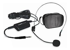 Microfone Headset Cabeça Com Fio Ksr Pro Kh20 P10 Auricular