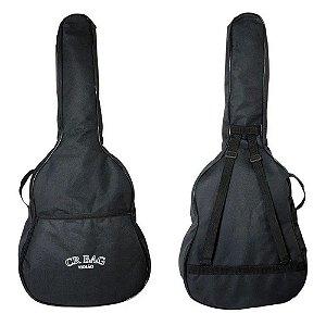 Bag Capa Violão Clássico Acolchoada Luxo Alça Costas Cr Bags