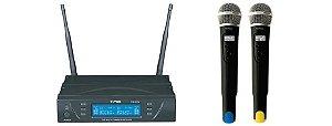 Microfone Profissional Tagima Tag Sound Sem Fio Tm 8034 Case - top de linha tagima