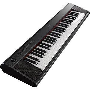 Teclado Yamaha Piano Digital Np12B Piaggero 61 Teclas Sensitivas