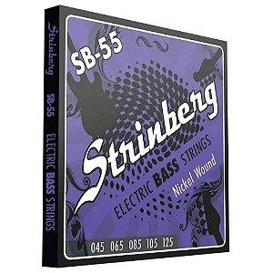 Encordoamento Strinberg Contra Baixo 5 Cordas SB55 045