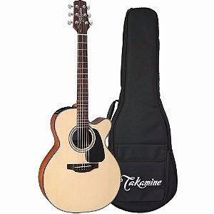 Violão Baby Takamine GX18CE NS natural aço regulado luthier