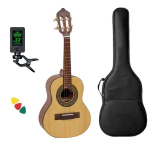 Kit Cavaco Giannini Cs1 Cedro Ns Natural Satin Acústico Capa