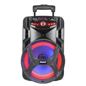 Caixa de Som Amvox Aca 250 Groove Portátil Bluetooth Usb Fm