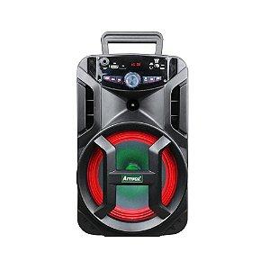 Caixa de Som Amvox Aca 188 Gigante Portátil Bluetooth Usb Fm