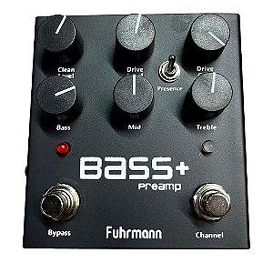 Pedal Fuhrmann Bass + Ba01 para baixo com saida balanceada