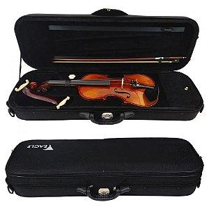 Violino Eagle Vk544 4/4 Envelhecido Case Breu Arco Espaleira