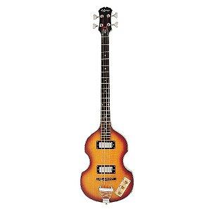 baixo Epiphone Viola Bass Vintage Sunsburst 4cordas regulado