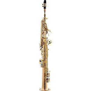 Sax Soprano Eagle Spx512 Sib Profissional