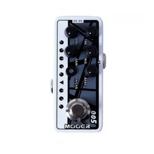 Pedal Mooer 005 Fifty EVH 5150 Van Halen pre amplificador