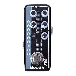 Pedal Mooer 003 Power Zone micro pré amplificador guitarra
