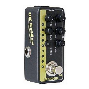 Pedal Mooer 002 UK G Micro Simulador Marshall jcm900
