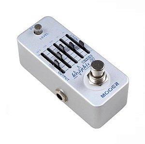 Pedal Mooer equalizador baixo 5 bandas Bass Equalizer Meq2