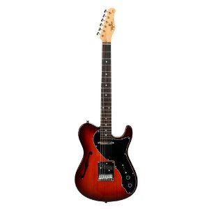 Guitarra Tagima brasil T920 Honeyburst thinline regulado