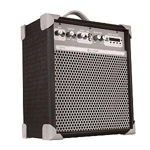 Caixa Amplificada ll audio Up8 preto 55w Multiuso Bluetooth