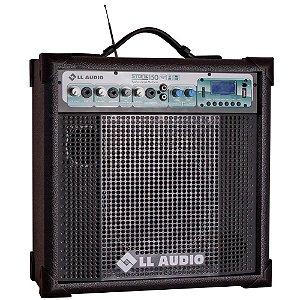 Caixa Multiuso LL Audio Stone 150 Usb Sd Fm C/ microfone