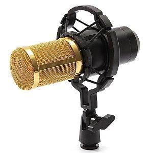 Microfone Condensador Mxt Bm700 P2 Profissional Gravação