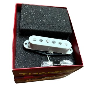 Captador Malagoli Custom Alnico Blues Branco