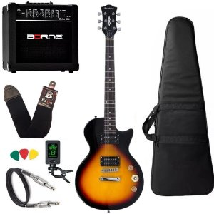 Guitarra Les Paul Strinberg Lps200 Sunburst Sb Cubo Borne