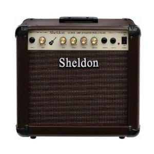 Amplificador Sheldon Vl3800 Para Violão - 40w