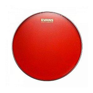 """Pele Evans Caixa 14"""" Hidráulica Vermelha Porosa B14HR"""