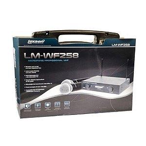 Microfone sem fio Lexsen LM-VHF58 Bi-Volt