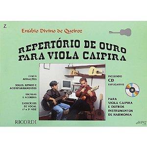 Método - Repertório De Ouro Viola Caipira - Enubio Queiroz