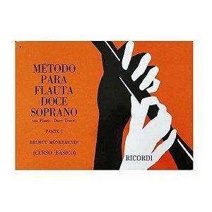 Método - Flauta Doce Soprano - Helmut Monkemeyer