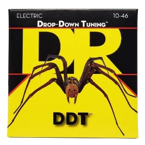 Encordoamento Guitarra Dr Strings Drop-down Tuning  DDT-10