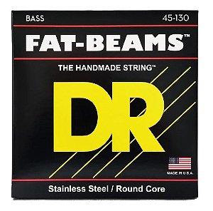 Encordoamento Baixo Dr Strings Fat-beams 5 Cordas 45-130